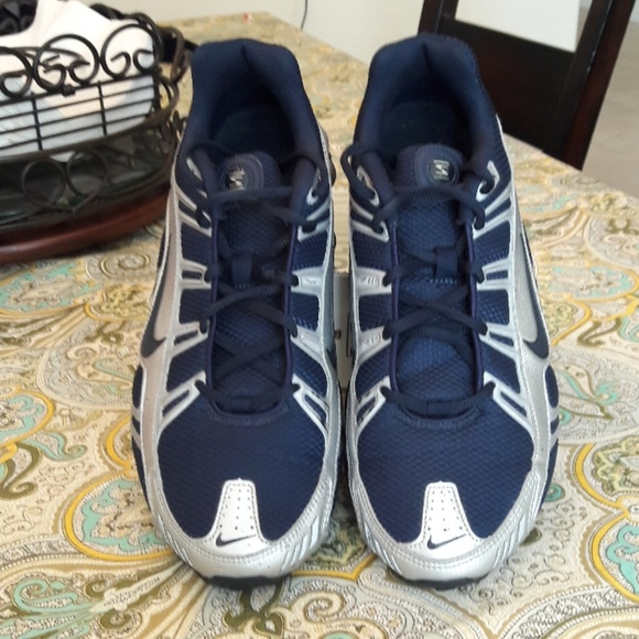 Nike shox turbo blue silver size 9.5. M 5b54a728e944baff02cea195 4a5291467
